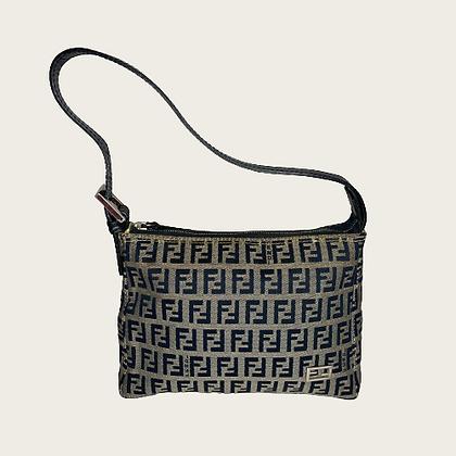 Vintage Fendi Zucca Hand Bag