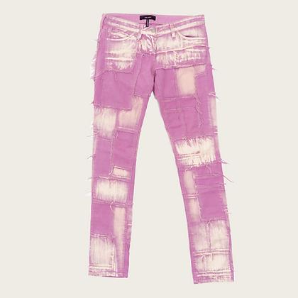 Isabel Marant Low-Rise Patchwork Jeans