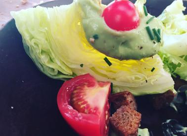 Iceburg Lettuce Wedges with Avocado Mayo