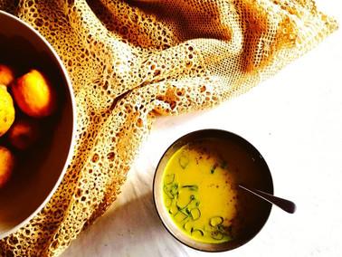 Golden Cream of Sweetcorn Soup Recipe