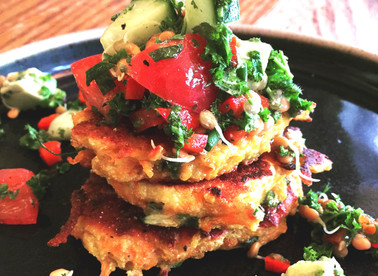 How to make fritters, quick and easy!