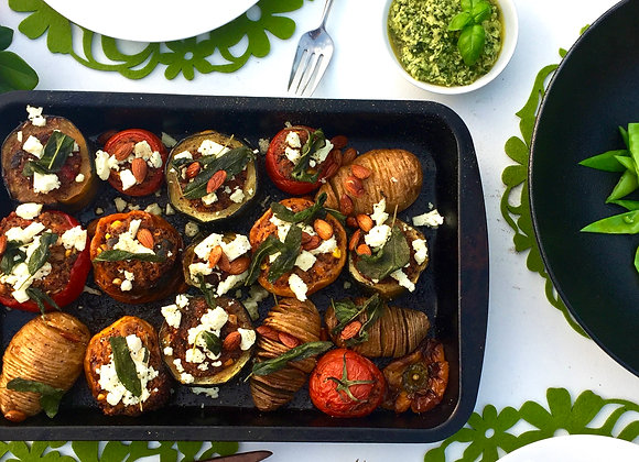 Plant-based Christmas Class and Meal