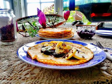 Lockdown Plant based Gluten free Pancakes