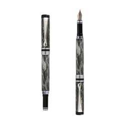 Ipazia fountain pen Grey marble effect