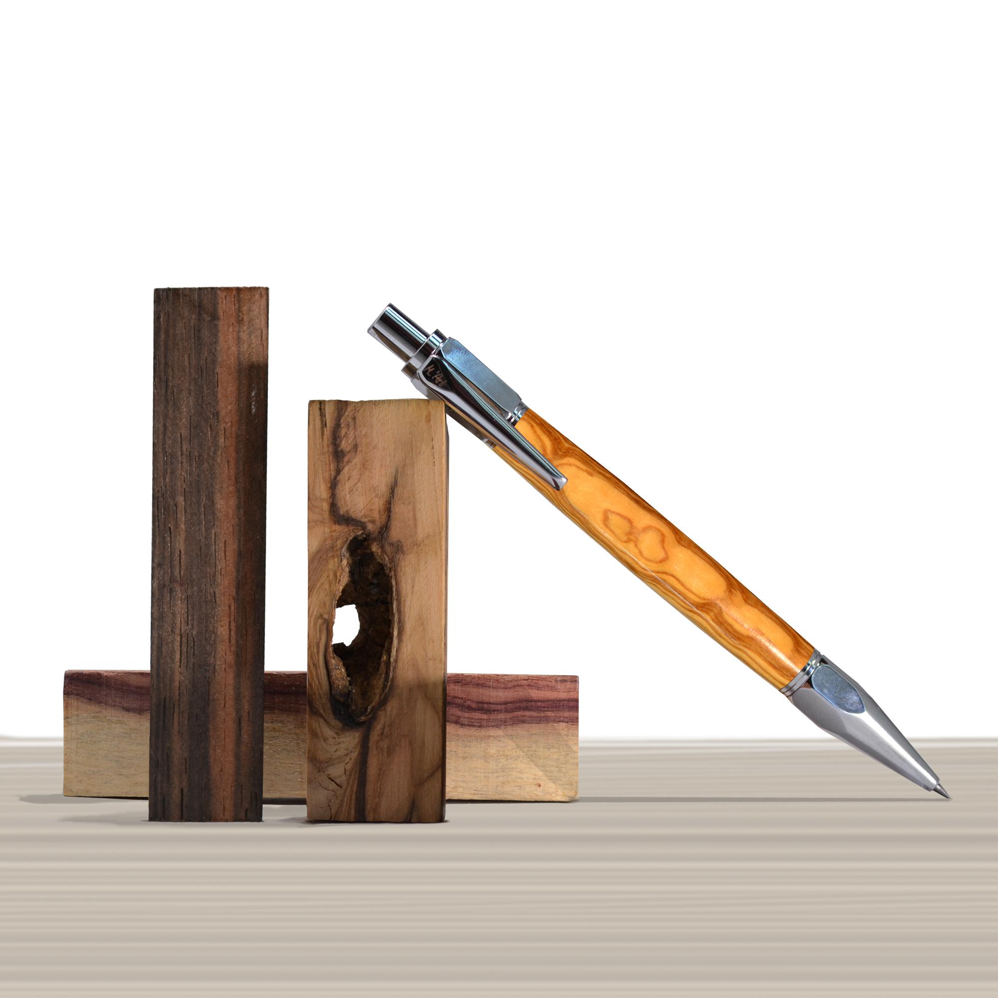 Artemisia pencil in Olive wood