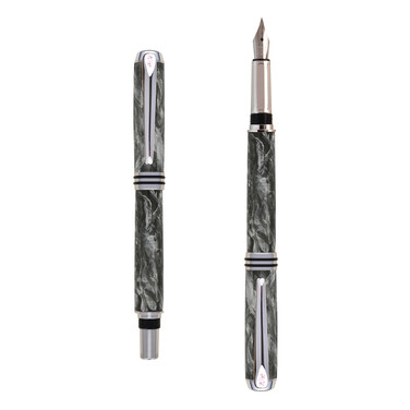 Antea fountain pen in Gray marble effect
