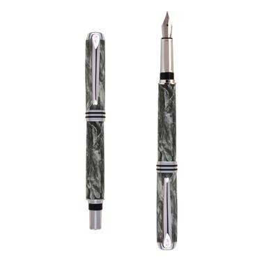 Antea fountain pen in Gray marble effect