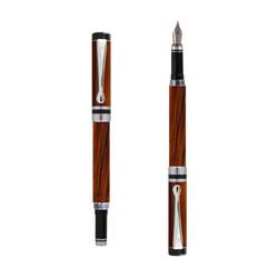 Ipazia fountain pen Cocobolo Wood