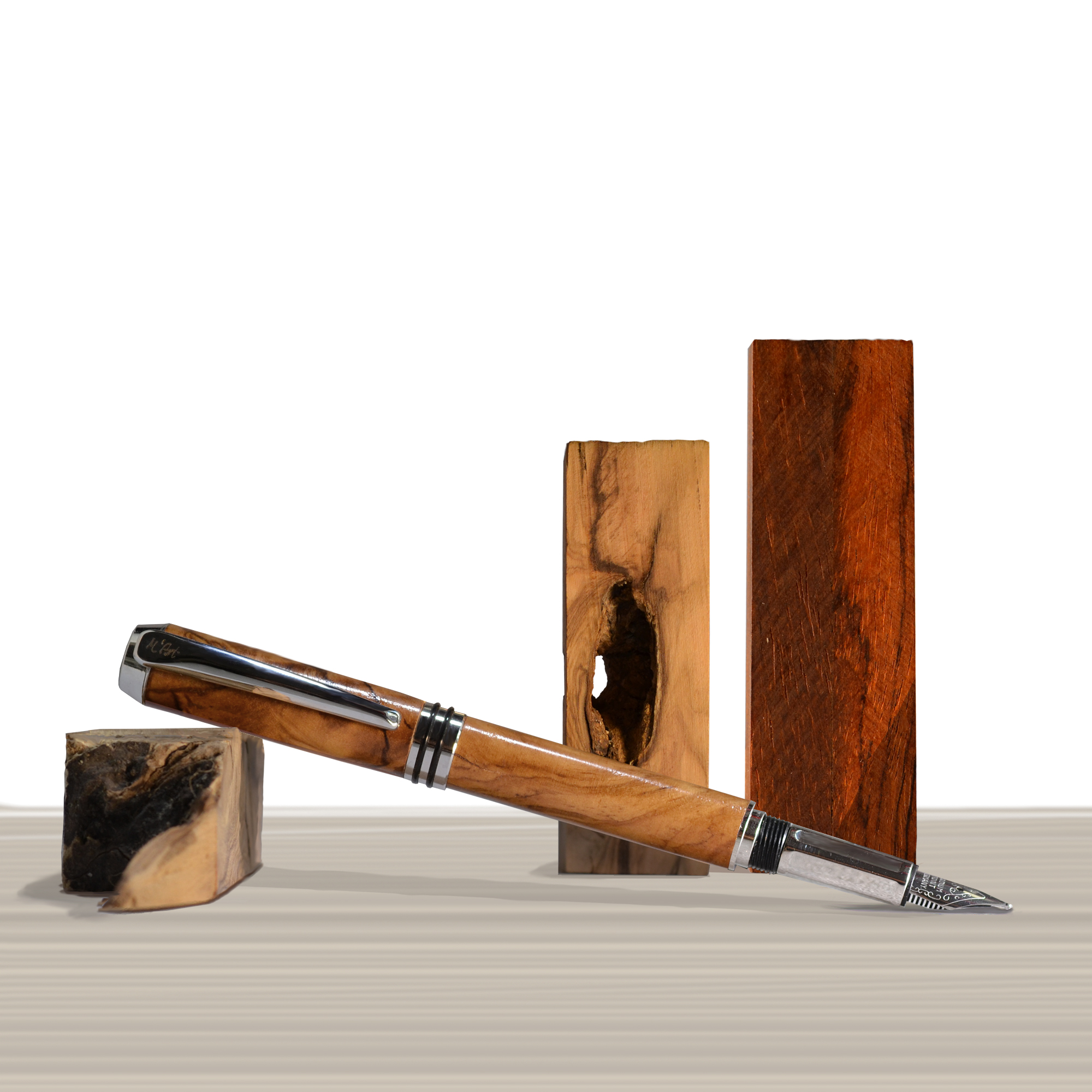 Antea fountain pen Olive wood