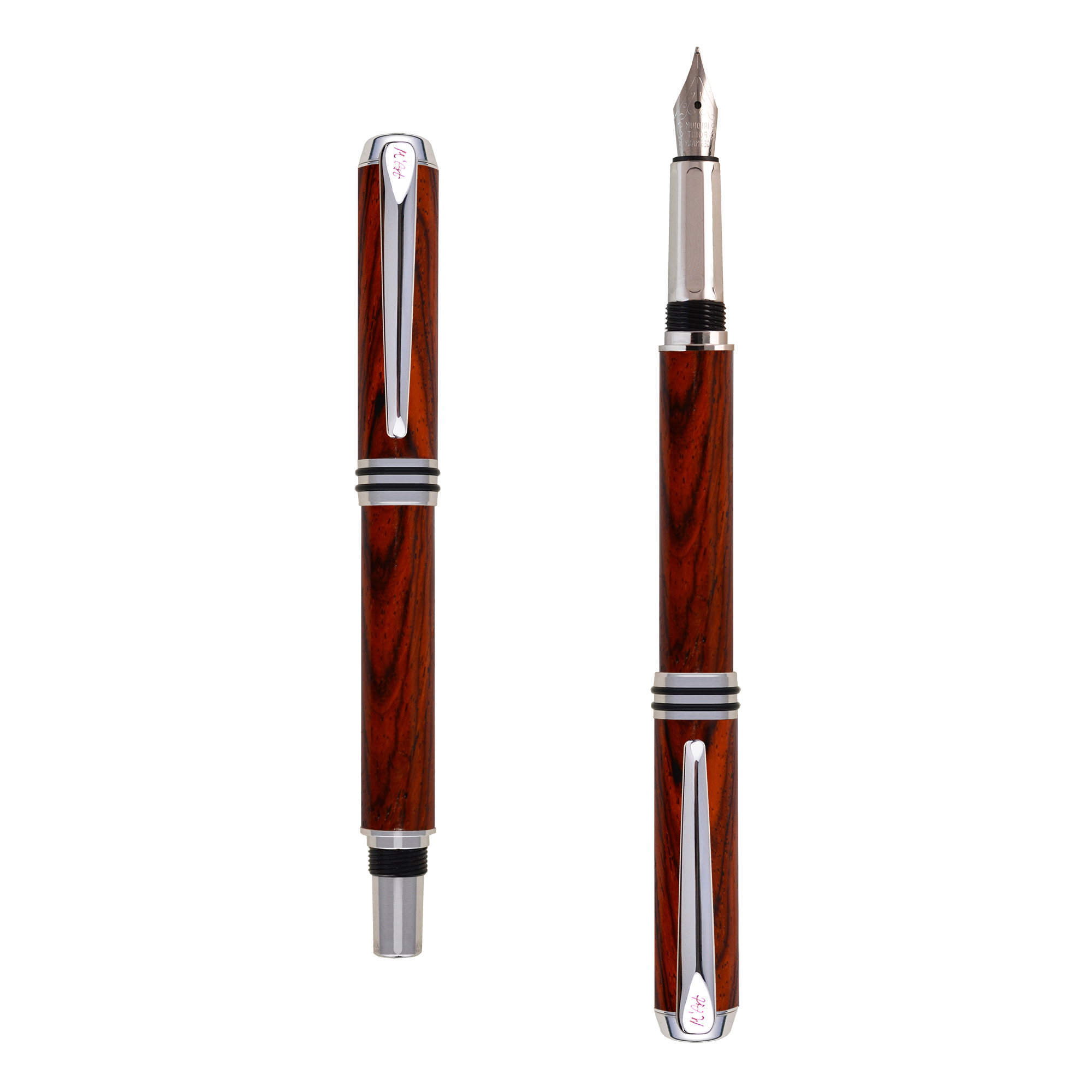 Antea fountain pen Cocobolo wood