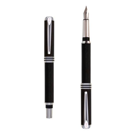 Antea fountain pen in Ebony wood