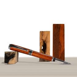 Antea fountain pen Bubinga wood