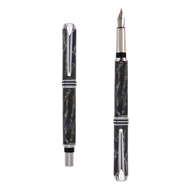 Antea fountain pen in Black marble effect