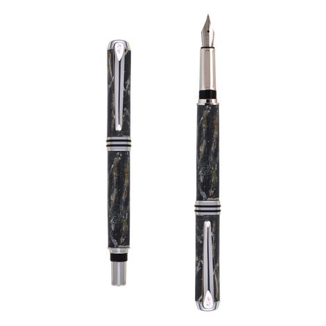 Antea fountain pen in Black marble effect
