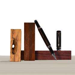 Ipazia fountain pen Ebony Wood