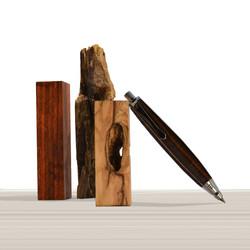 Ligabue pencil in Ebony wood