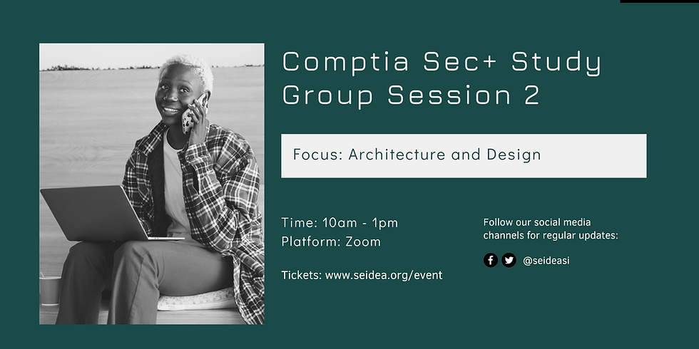 Comptia Security+ SY0-601 Study Group Session 2