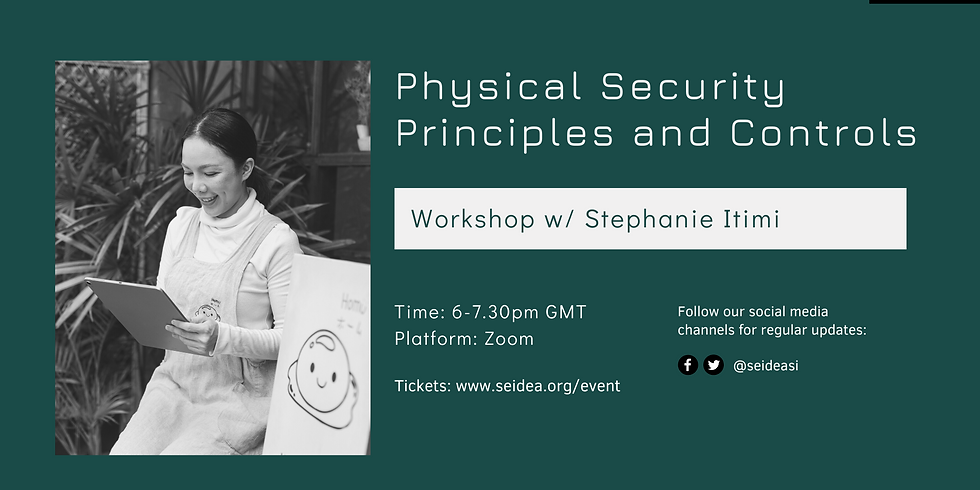 Physical Security Principles and Controls