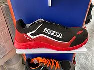 Chaussure de sécurité SPARCO S3 nitro red/black