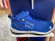 Chaussure de sécurité SPARCO S3 racing evo blue/blue