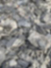 Ardoise pilée 0/40 Moaistone