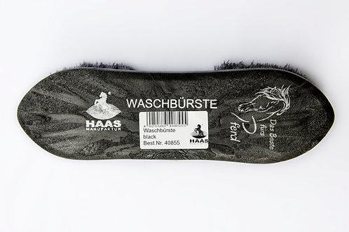 Haas Manufaktur Waschbürste black