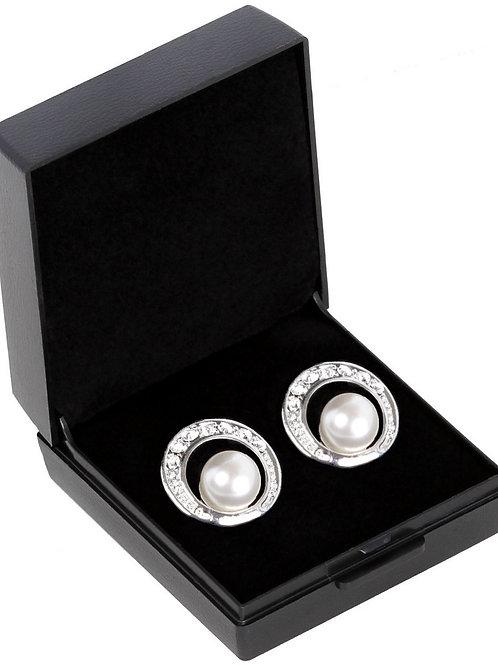 SD Design Ohrring Cream Pearl