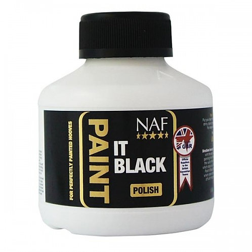 NAF Paint it Black Huflack 250 ml