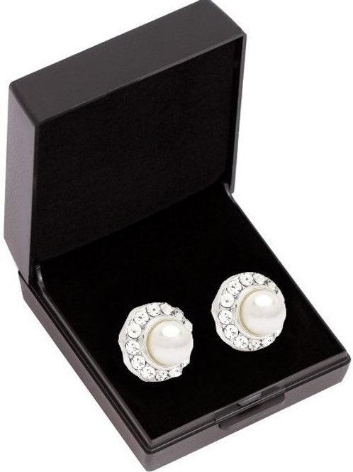 SD Design Ohrring Classic Cream Pearl