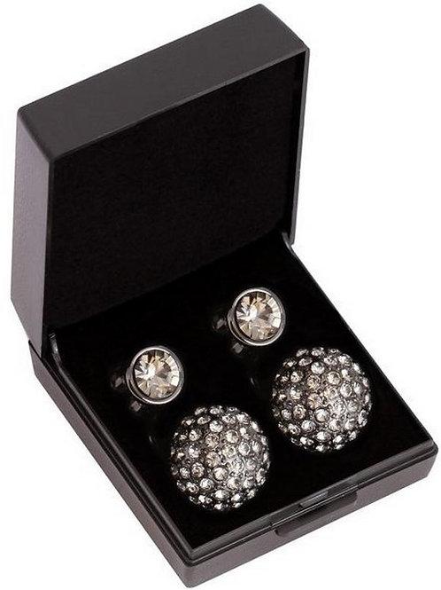 SD Design Ohrring Diamond schwarz