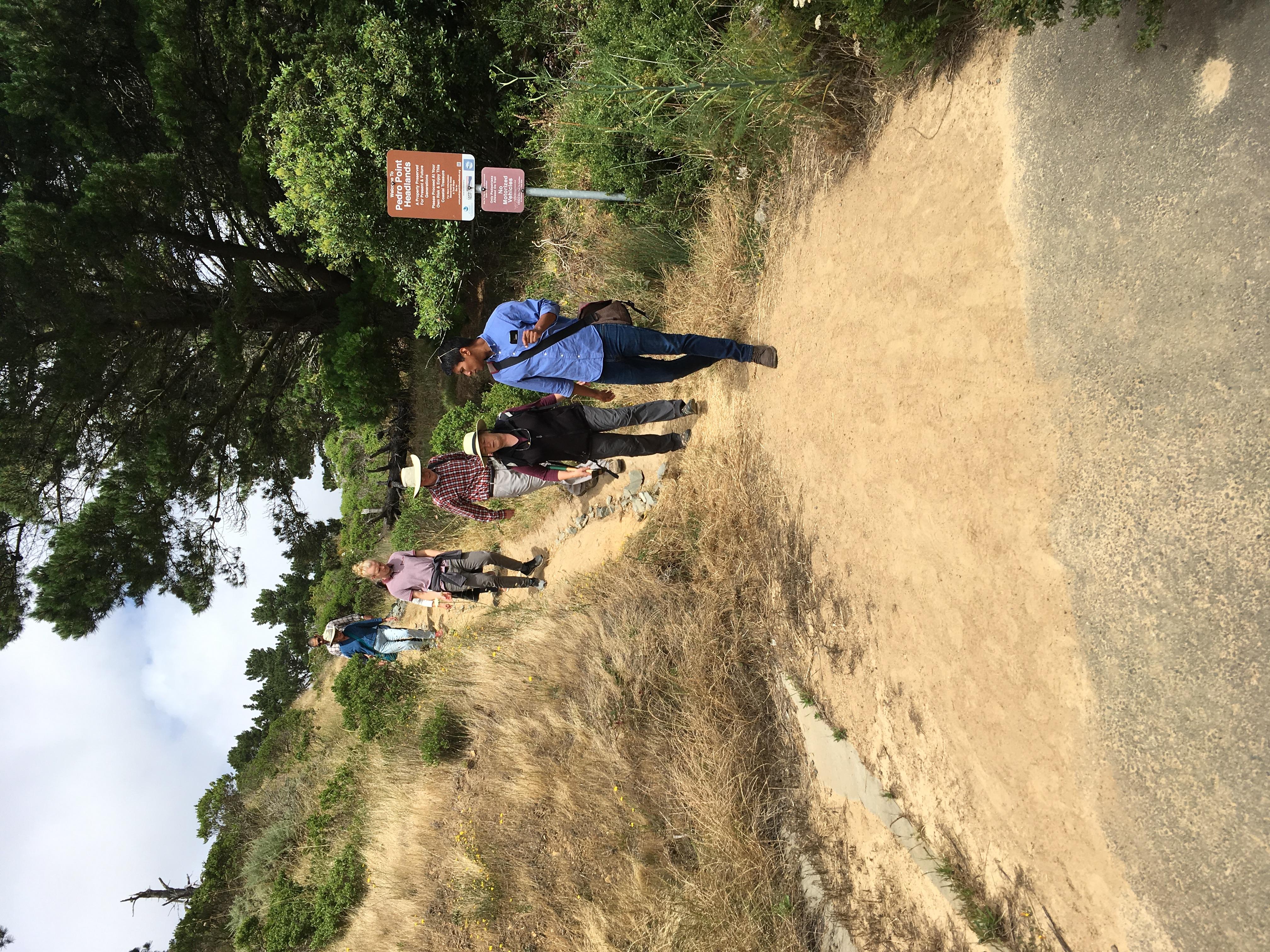 Pedro Point Site Visit
