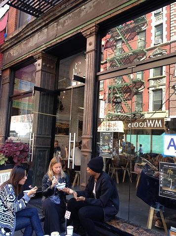 Shopping mit Freunden in NewYork