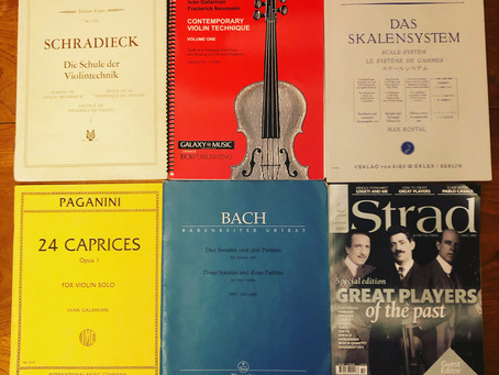 The Violin Retreat Diaries - An introduction