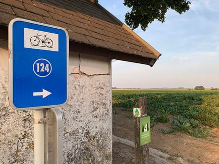 Vlijtingen - wandelen en fietsen