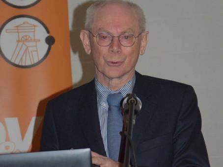 Fotoverslag lezing Herman Van Rompuy