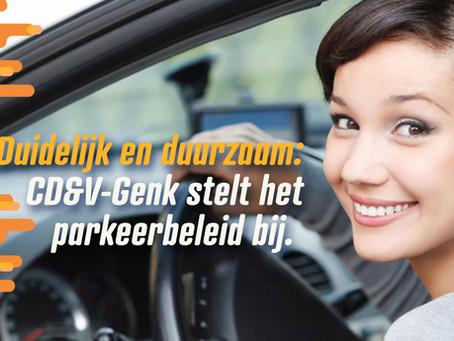 We stellen het parkeerbeleid bij