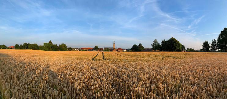 Vlijtingen - zicht op de velden