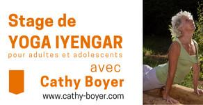 2019 | 30 nov et 1 déc | Stage de Yoga Iyengar