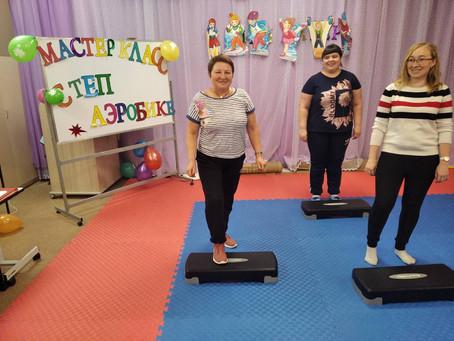 Фестиваль гимнастики в детском саду