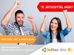 Hufbau nyereményjáték ráerősítő poszt