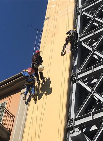 Edilizia acrobatica Torino Tecnologie Vegetali 2