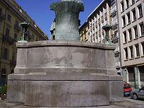 Rimozione graffiti, pulizia e protezione monumenti