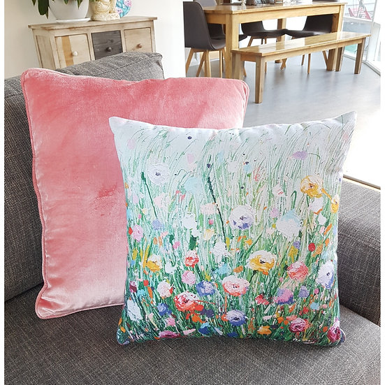Here to Flower Cushion