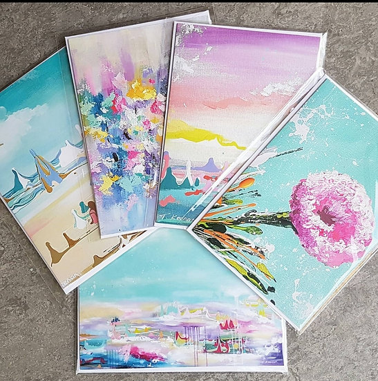 5 Pack Greeting Cards