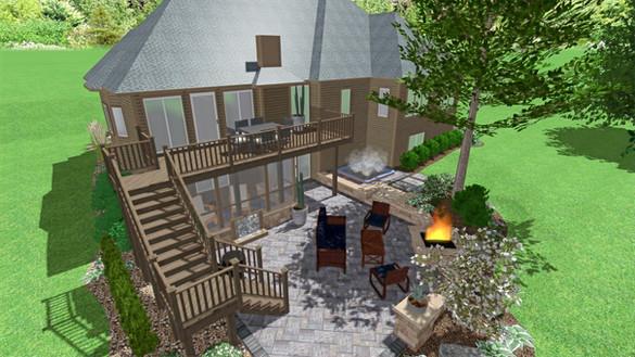 3D Backyard