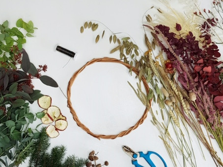 How to make a stunning winter wreath