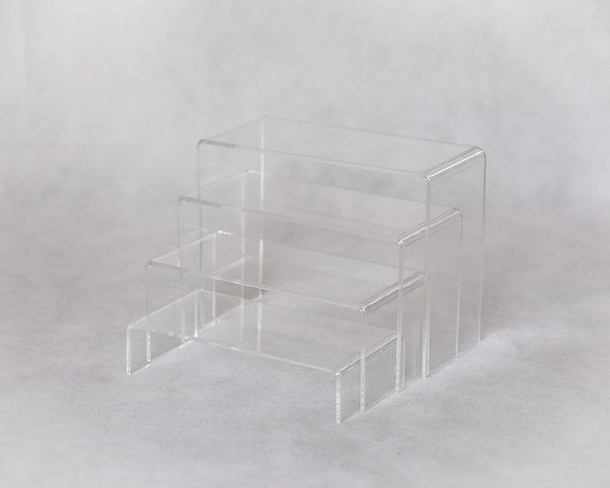 Acrylic riser set - rectangle