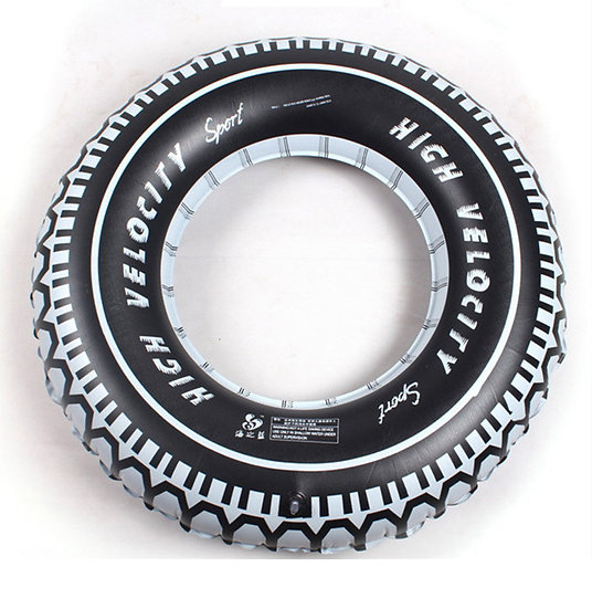 Inflatable tire ring