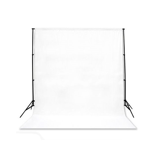 Flat white backdrop (firm material)