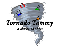 Tornado Tammy - science party entertainer